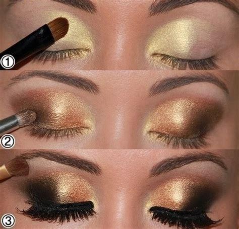 Eyeshadow Gold Tutorial 14 stylish smoky eye makeup tutorials pretty designs