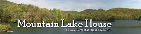 mountain island lake nc boat rentals mountain lake house cabin rental on lake santeetlah 828