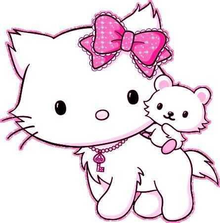 imagenes de kitty rayada hello kitty glitter gifs picgifs com