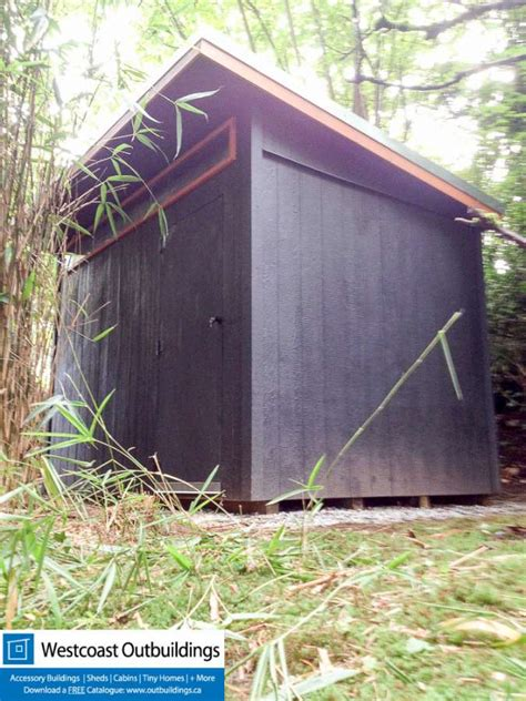 west vancouver garden shed  stealth shed