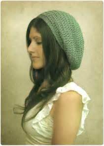 Free crochet pattern gumdrop slouchy hat gleeful things