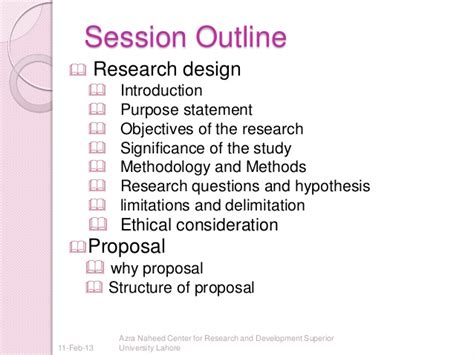 Phd Thesis Research Design by Research Design And Writing