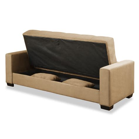 Click Clack Futon Review by Serta Click Clack Sofa With Storage Sofa Review