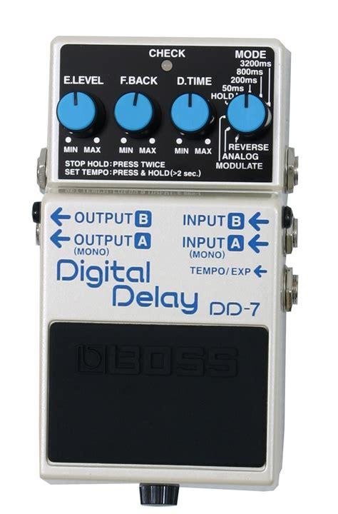 Dd 5dd5 Digital Delay Effect Pedal dd 7 digital delay guitar effect pedal