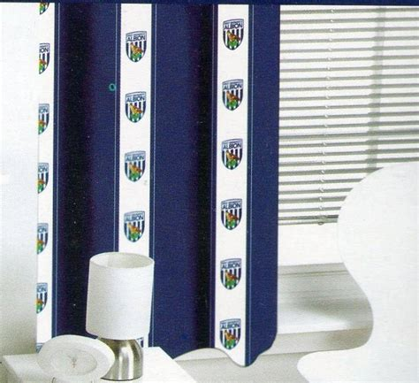 Blackout Curtains 72 Wide West Bromwich Albion Bedroom Ready Made Curtains