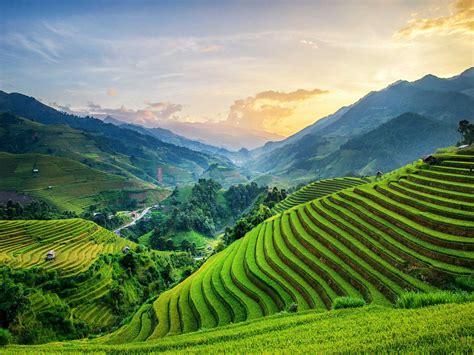 imagenes bonitas de paisajes del mundo paisaje hermosos fabulous cheap paisaje de las colinas
