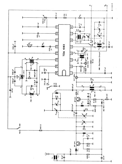am radio integrated circuit lifiercircuits am receiver