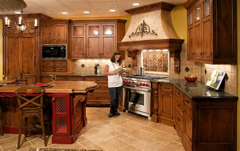 Home Decor Ideas For Kitchen by Decorating Tuscan Style Kitchens Room Decorating Ideas