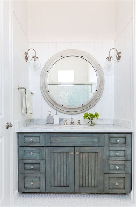 distressed bathroom mirror vanities cabinets and marbles on pinterest
