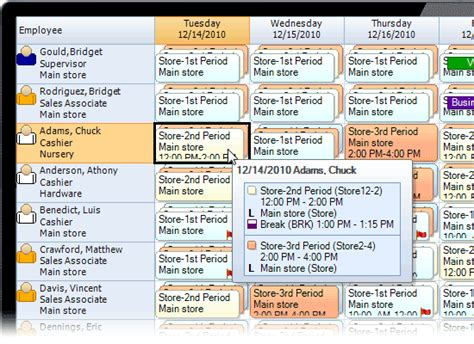 retail schedule template employee scheduling software for retail shops