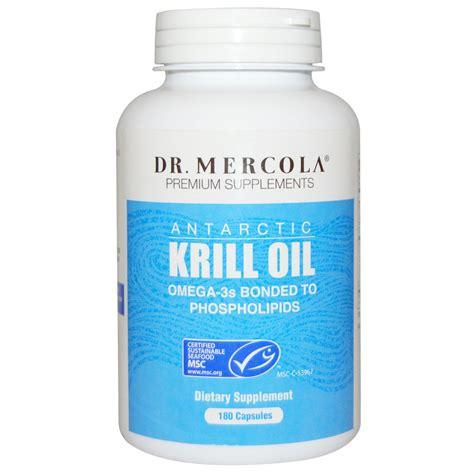 Suplemen Krill dr mercola premium supplements antarctic krill 180 capsules iherb