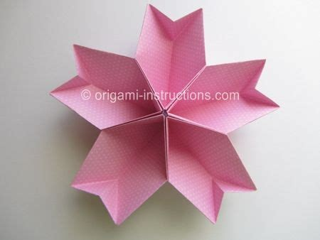 How To Make An Origami Kusudama Flower - 17 best ideas about easy origami flower on