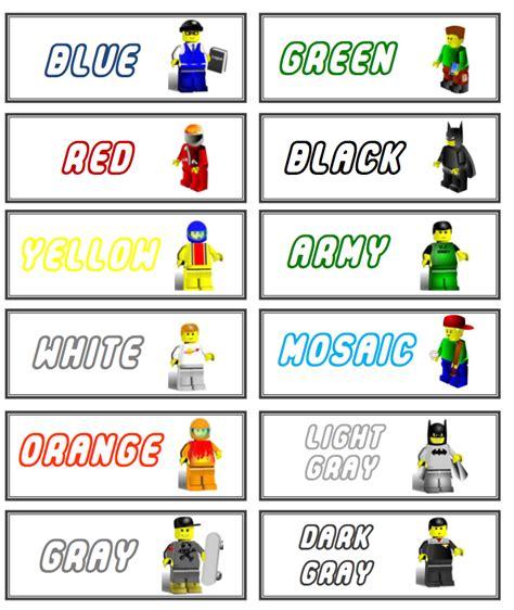 printable lego label lego storage on pinterest lego instructions lego and