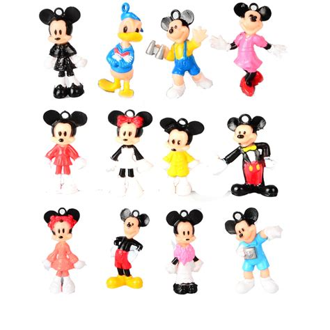 Botol Mini Mickey Mouse 12pcs mini mickey mouse donald duck minifigures minnie