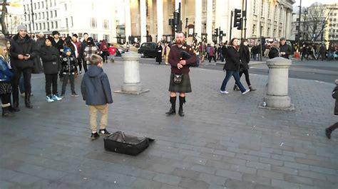new year 2015 trafalgar square trafalgar square scotchman bagpipe new year