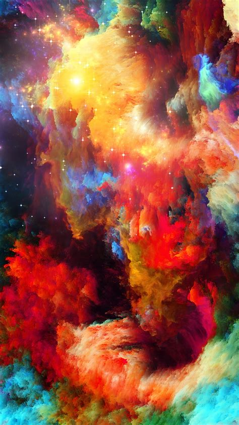 wallpaper iphone 6 design colorful space abstract design stars iphone wallpaper