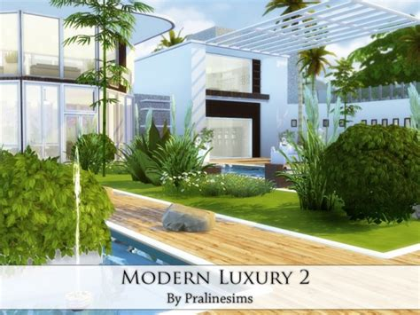 sims 2 luxury homes the sims resource modern luxury 2 by pralinesims sims 4