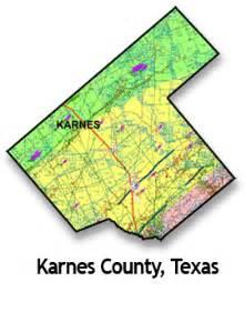 map karnes county