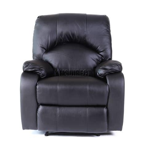 new recliner foxhunter leather massage cinema recliner chair sofa