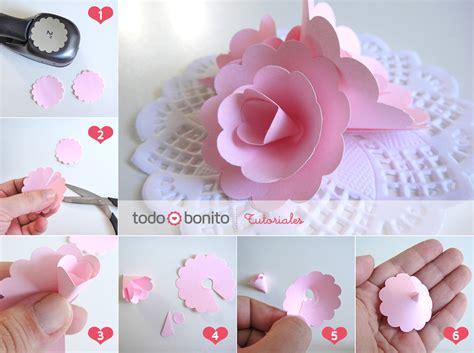 como hacer flores con papel crepe paso a paso tutorial paso a paso rosas de papel todo bonito