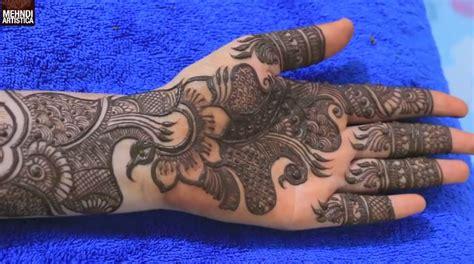 full hand dulhan mehndi design  hands smart easy ideas