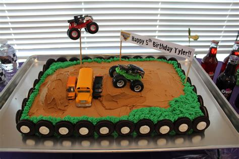 grave digger monster truck party supplies it s fun 4 me monster truck 5th birthday party