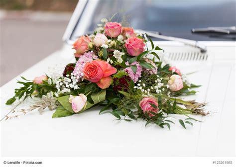 Hochzeitsschmuck Für Auto by Autoschmuck Mit Steckschaum F 195 188 R Die Hochzeit Selber Machen