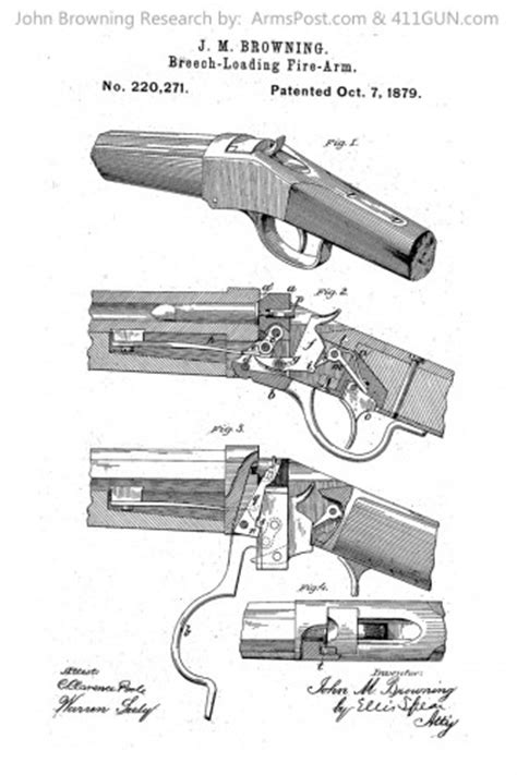 john browning patent   winchester model