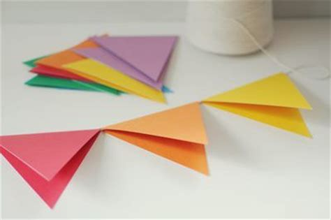 How To Make A Flag Out Of Paper - best 25 paper banners ideas only on paper