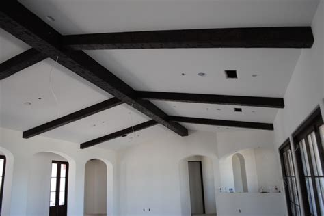 boxed ceiling beams pitched ceiling hewn box beams jpg