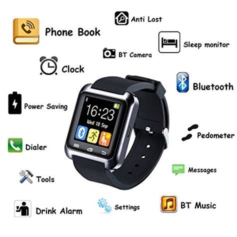 Smartwatch U80 Upgraded Version Of U8 U80 Bluetooth 4 0 Smart Wrist