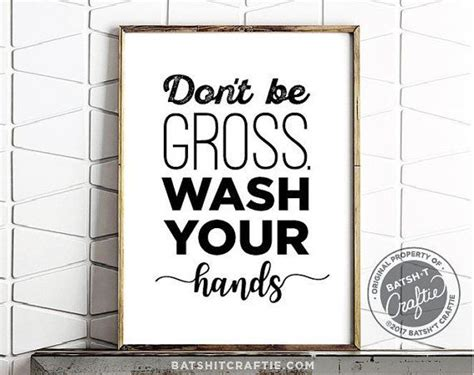 cute bathroom signs for home best 25 wash hands printable ideas on pinterest