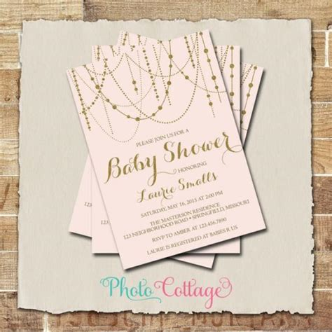 pink and gold baby shower invitation it s a baby shower invitation glitter gold