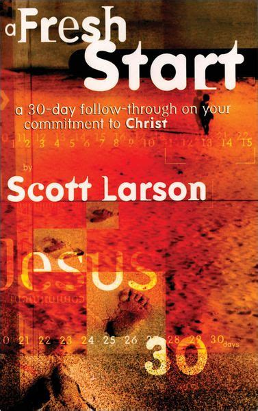libro commitment my autobiography a fresh start following through on your commitment to christ by scott larson paperback