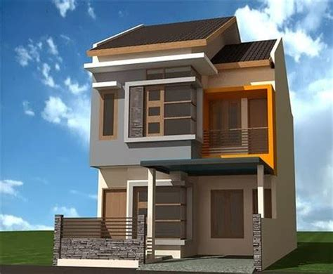 desain rumah dua lantai pin by minimalist home design on minimalist home design
