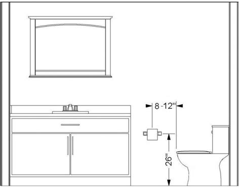 placement of toilet paper holders in bathrooms installation height of toilet paper holder knowledge base