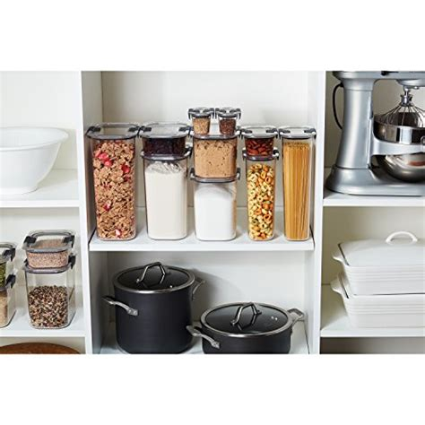 rubbermaid kitchen storage containers rubbermaid brilliance pantry airtight food storage container bpa free plastic 12 cup buy
