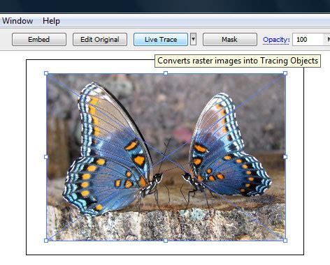 barra superior illustrator uneweb instituto crear mariposas con illustrator y after