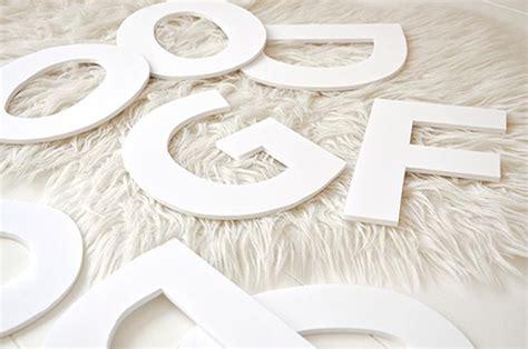 decoracion de letras en carton 3d decorar letras de carton facilisimo