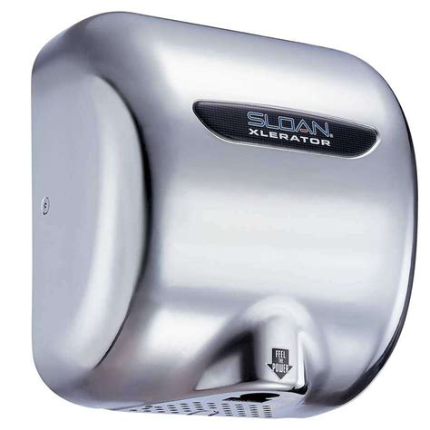 Automatic Dryer sloan xlerator 174 electric dryer saves time and energy with automatic high speed drying in 15