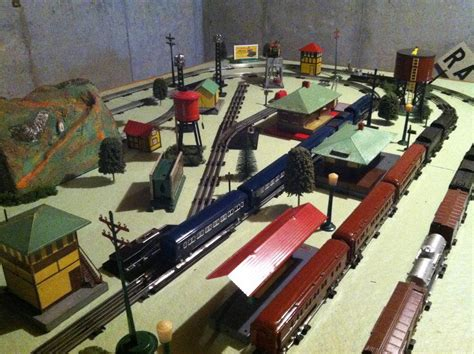 american flyer layout video prewar american flyer layout o gauge railroading on line