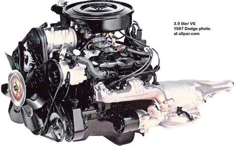 The 3.9 liter LA series Dodge V6 engine