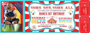 Carnival Themed Invitations Templates Free by Carnival Invitations Invitations Templates