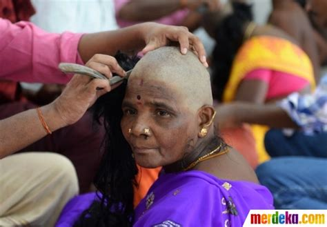 Rambut Palsu Di Makassar foto kisah perempuan botak di balik cantiknya rambut