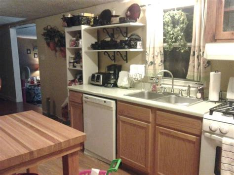 manufactured homes kitchen cabinets 6 great mobile home kitchen makeovers