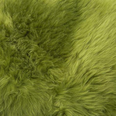 green sheepskin rug buy pols potten sheepskin rug 100x70cm green amara