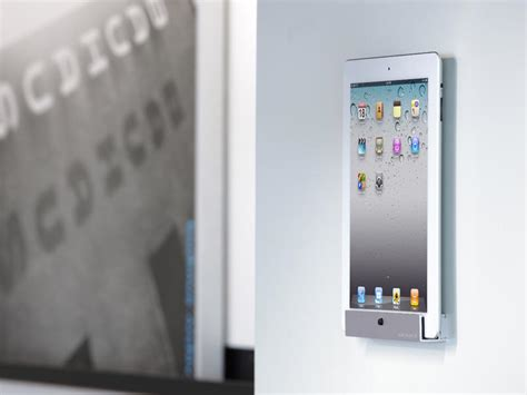 Tablet Wall Mount Diy by Just Mobile Horizon Wall Mount For Ipad And Ipad 2 Gadgetsin
