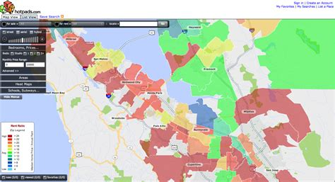 san jose heat map not sure whether to rent or buy check the heat map