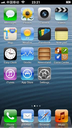 iphone 5 apk iphone 5 launcher 1 2 187 playapk org