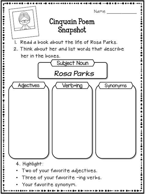 rosa parks biography lesson plan 100 rosa parks worksheets rosa parks main idea kwl
